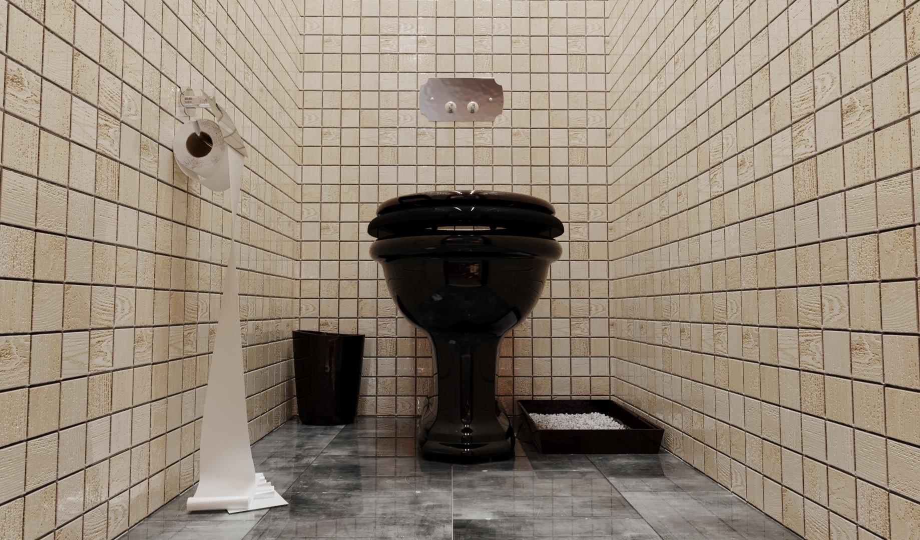 Туалет 2-й этаж
