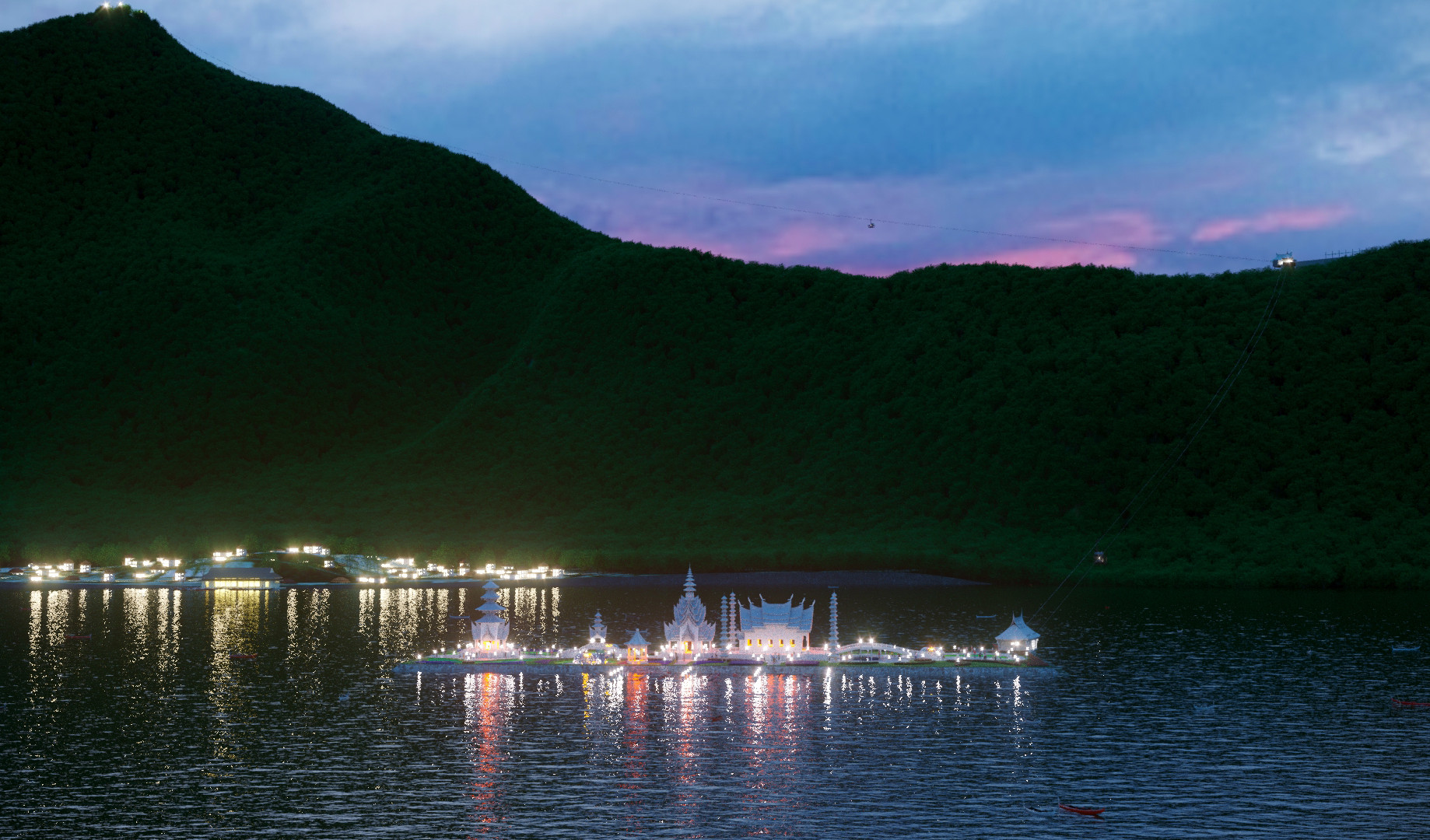 Храм Принцеесы озера Батур 2 вар