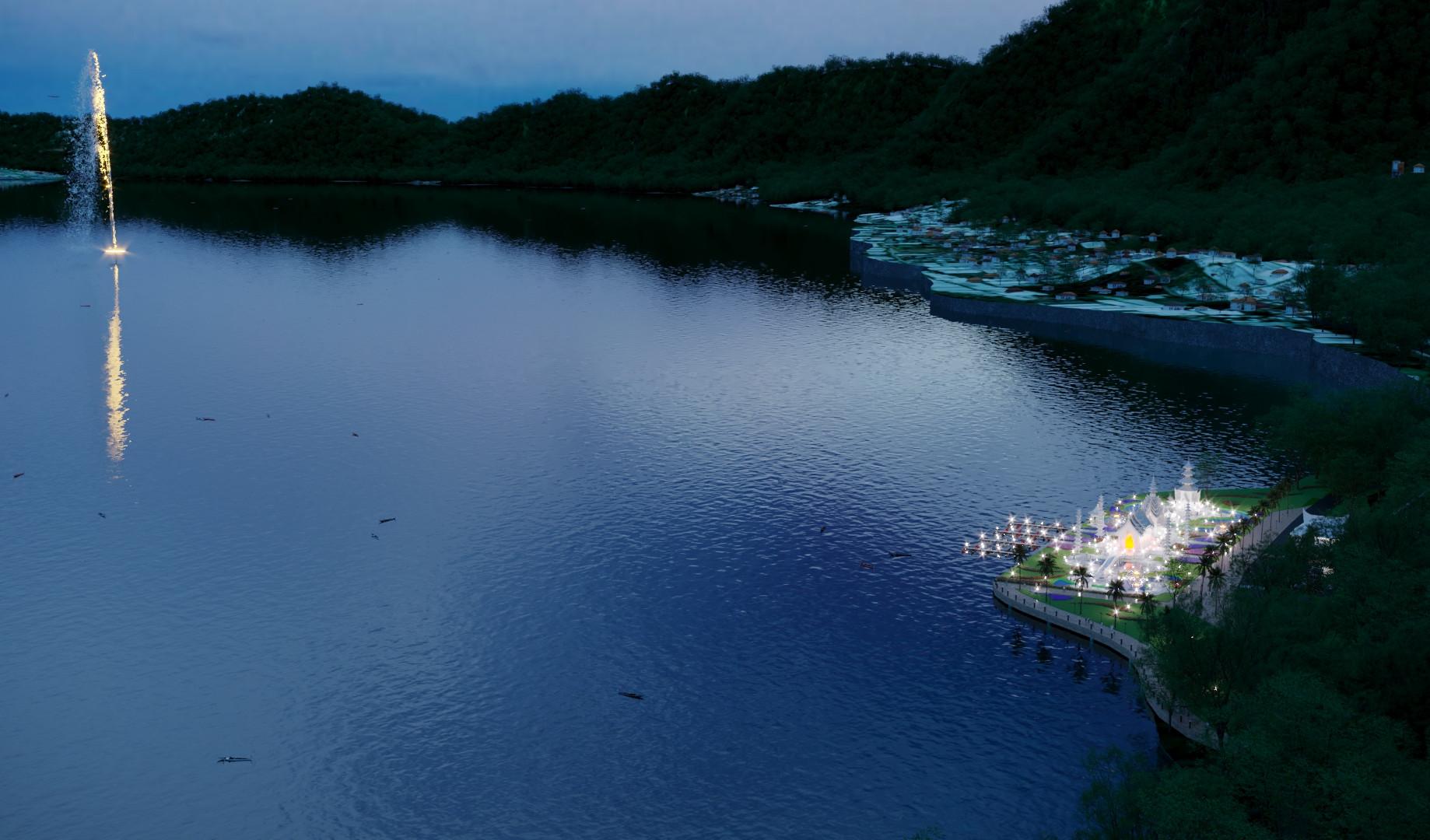 Храм Принцеесы озера Батур