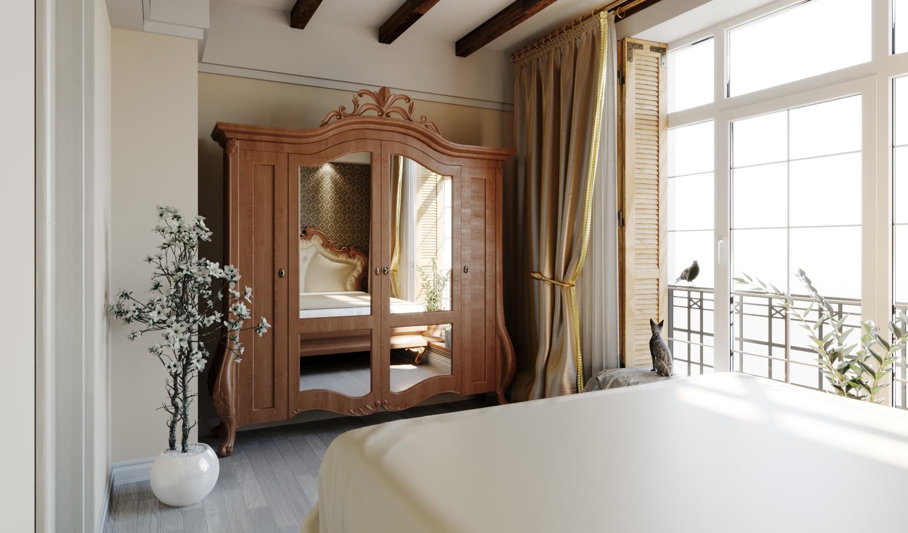 Спальня 2-й этаж