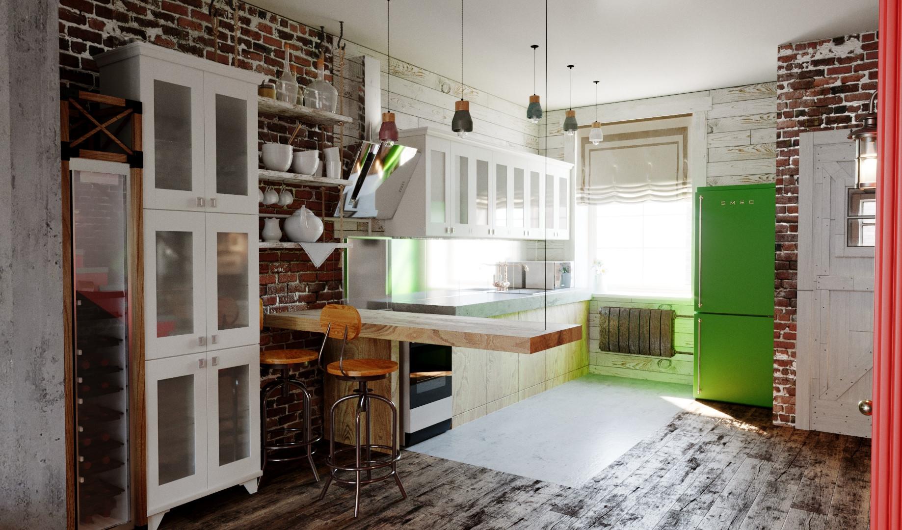 Кухня 1-й этаж