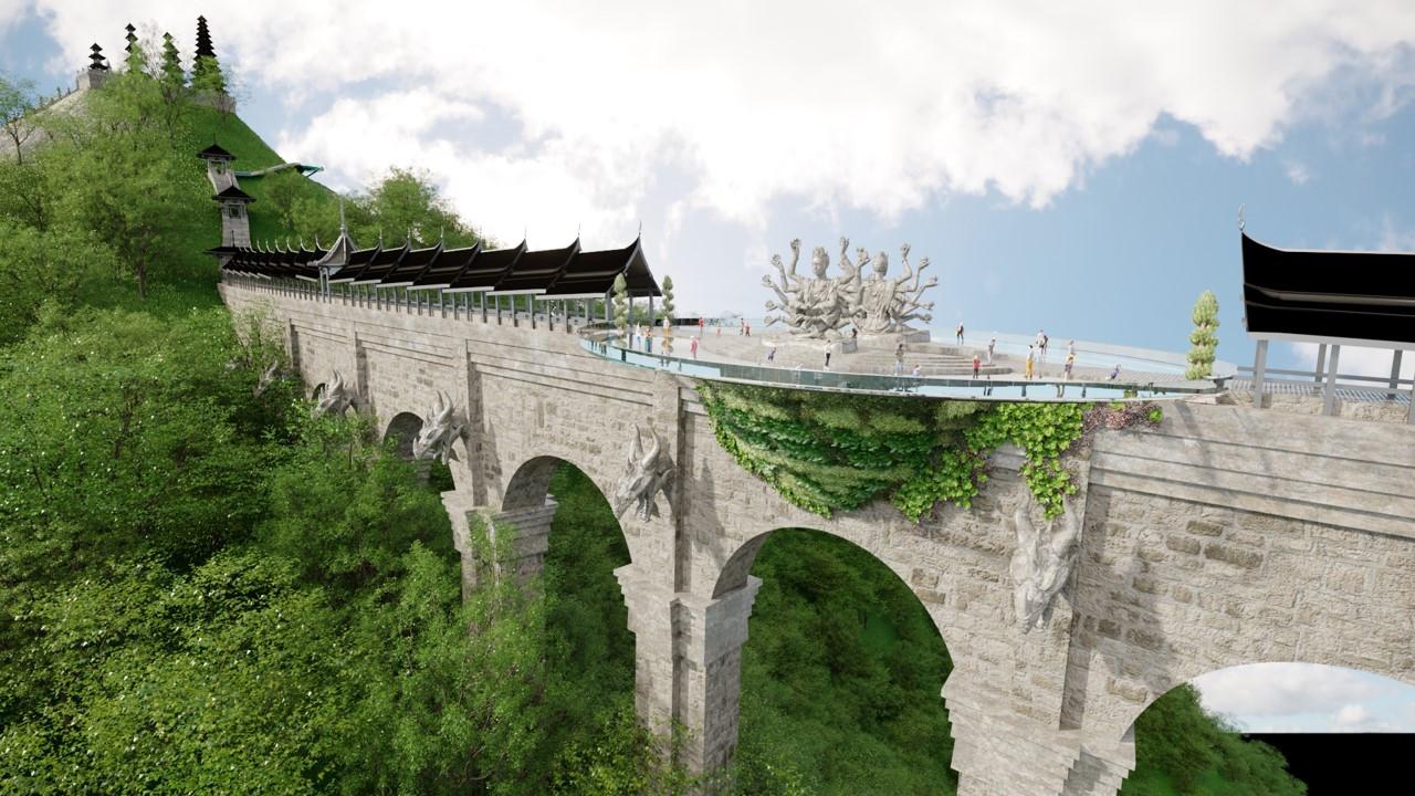 Видовая площадка на мосту