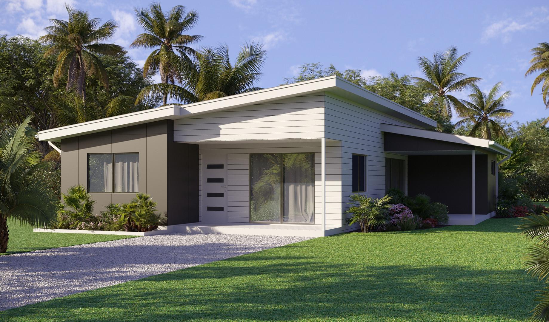 Дом на острове Кука, Океания