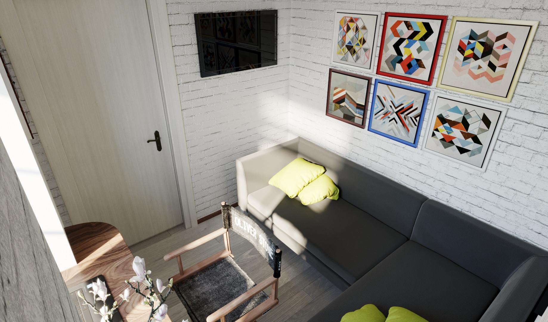 Гостевая (кабинет) 2-й этаж