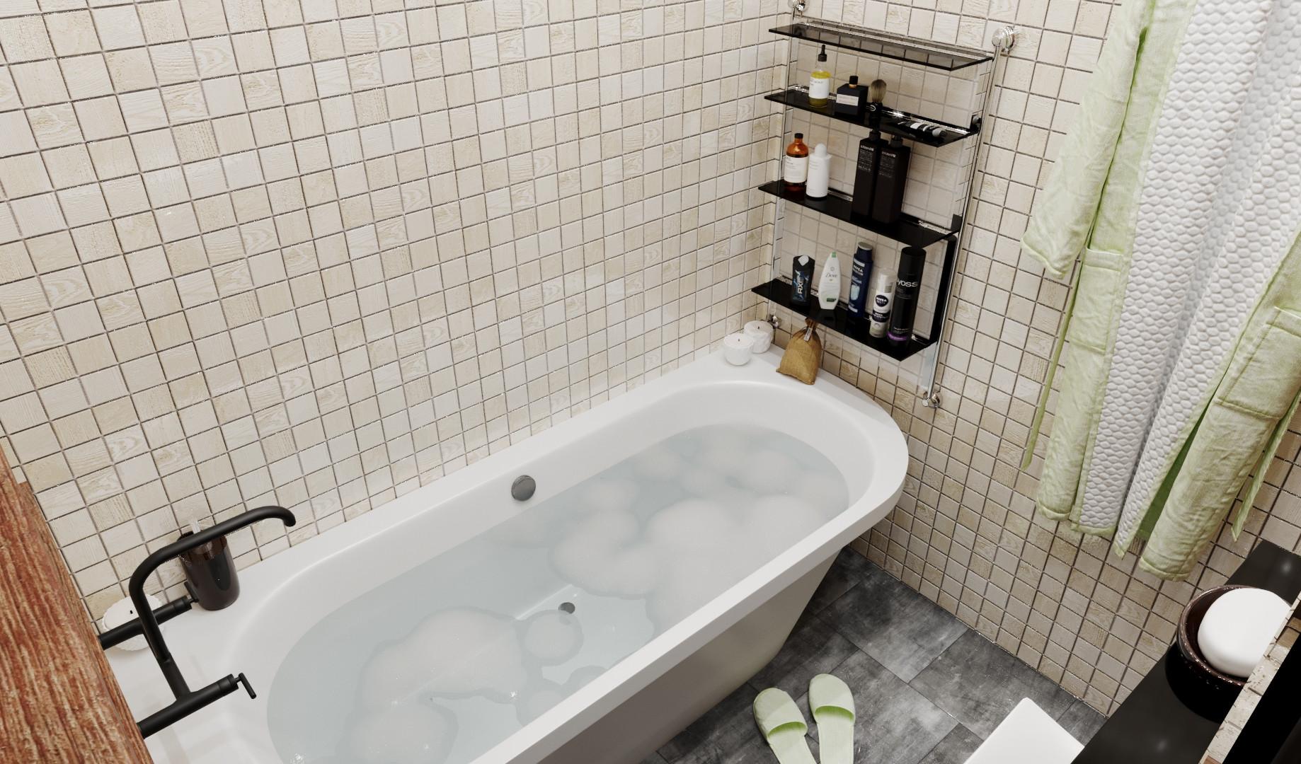 Ванная 2-й этаж