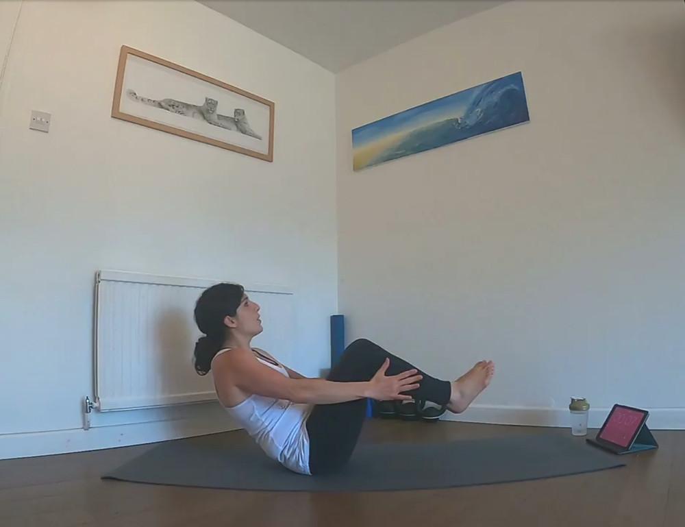 Roberta Freeland online fitness class