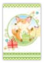 HIC8338 Mini Cute Fox