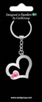 IGa-2001 Heart key ring