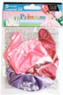 IGB-19 Pearlised Princess Balloons