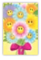 HIC8354 Mini Glitter Fleur