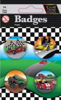 IGa-4004 Fast Cars badges