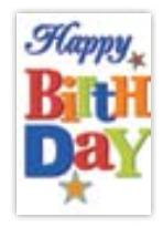 HIC8368 Mini Happy BIrthday
