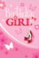HiC3739eN Girly Birthday