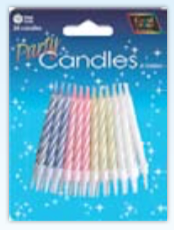 IGC-26 party candles