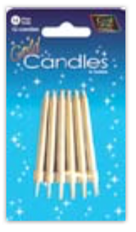 IGC-14 Gold candles