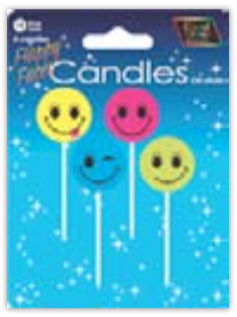 IGC-24 happy faces candles