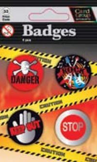 IGa-4001 Cool badges