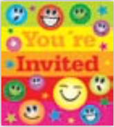 HIC25004 en Glitter Faces Invitation