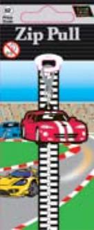 IGa-2011 Cars Zip Pull