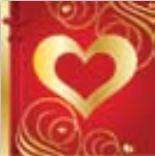 HIC15034 Goldshine Heart