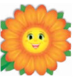 HiC4042 Big orange daisy