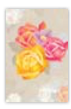 HIC8418 Mini Classical Flowers