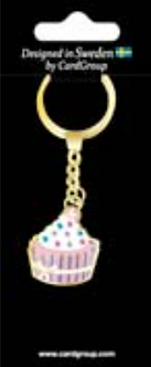 IGa-2041 Cup Cake key Ring
