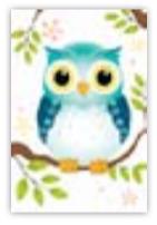 HIC8352 Mini Cute Owl