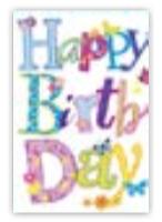 HIC8314 Mini Pretty Birthday