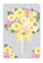 HIC8384 mini pink Bouquet