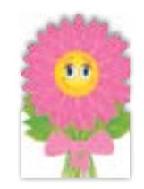 HIC8387 Mini Smiling Fleur