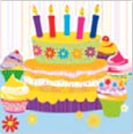 HiC4046 Big CupCake Birthday