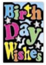 HIC8221 Mini Funky Wishes