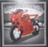 HIC15042 Red motorcycle