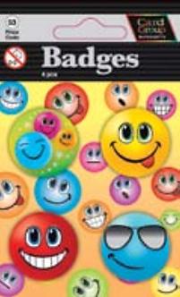 IGa-4002 Smiling Faces Badges
