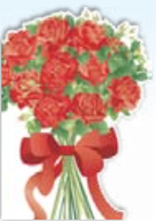 HiC4097 Big red rose Bouquet