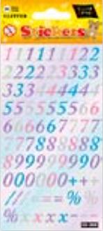IGD-282B Glitter numbers