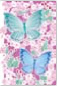 HIC20014 Laser Butterfly Garden