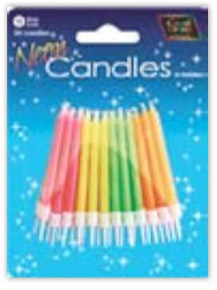 IGC-12 neon candles