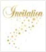 HIC25002 en Gold Stars Invitation