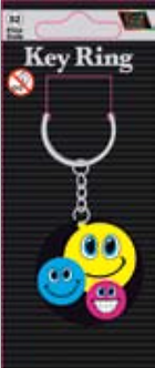IGa-2008 Smiling Key Ring