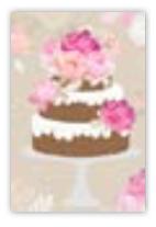 HIC8417 Mini Classical Cake