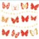 HIC15073 GlItter butterfly tree