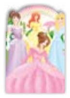 HIC8381 Mini Princess Friends