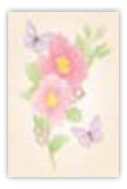 HIC8412 Mini Graceful Flowers