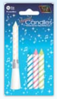 IGC-17 MusIcal candles