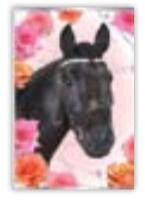 HIC8370 Mini Elegant Horse