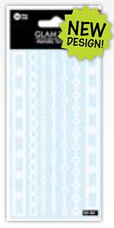 IGD-484 WHITE BRACELETS TATTOO