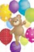 s0048 Balloon Bear
