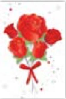HIC10086B Shiny Roses